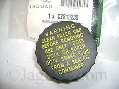 Jaguar OEM X Type Brake Master Cylinder Reservoir Cap C2S13235