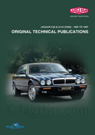 1995-1997 XJ6 XJ12 XJR Jaguar repair manual